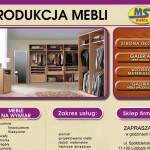 MS Meble – nowoczesne szafy